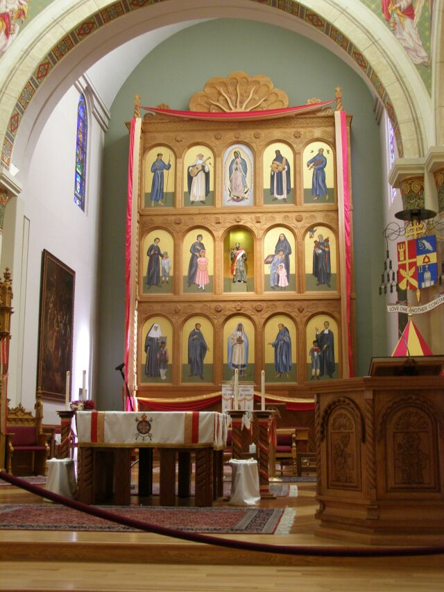 Cleansing Fire Chancel Images