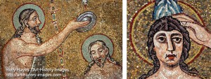Left: Orthodox Baptistery; Right: Arian BaptisteryHolly Hayes/Art History Images