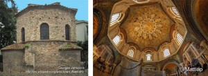 Left: Arian Baptistery; Right: Orthodox BaptisteryL: Georges Jansoone; R: Mattiah