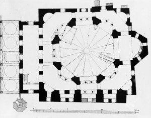Ground Plan of Sts. Sergius and Bacchus
