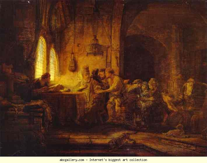 "Rembrandt's ""Laborers in the Vineyard"""