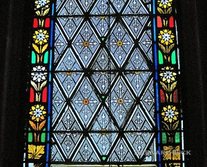 We included this window image in the post on the church building as garden.