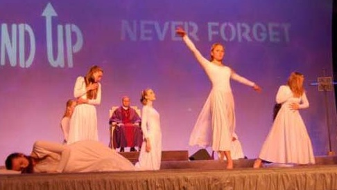 mahony and his liturgical dancers