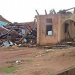 Bombed Out Church in Nigeria
