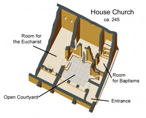 house church labelled