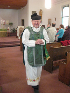 Farewell to Father John Cornelius