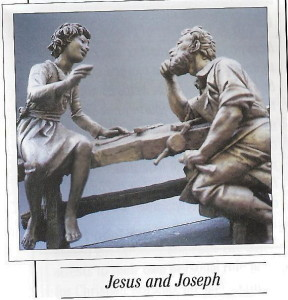 St. Joseph's Bench at Basilica of the National Shrine of Mary, Queen of the Universe, Orlando FL